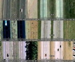 Composite interstate highway image